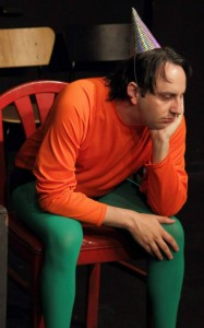 Jarrett Lennon Kaufman as Aquaman from Shorts 2! A Los Angeles Playwrights Festival
